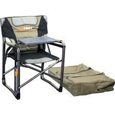 Folding Directors Chair With Side Table Oztent Gecko Chair Aluminium Folding Chair With Side Table Rocky
