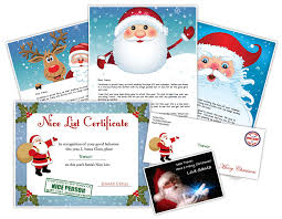 personalized letter from santa letter from santa create personalized printable santa letters