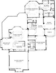 tudor style house plan 4 beds 3 5 baths 3120 sq ft plan 429 233