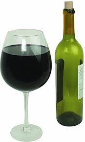 amazon com oversized extra large giant wine glass 33 5 oz