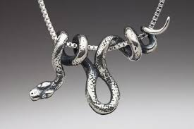 snake jewelry necklace images Silver snake necklace snake jewelry vine snake pendant snake etsy jpg