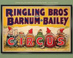 Barnes And Bailey Circus Pt Barnum Etsy