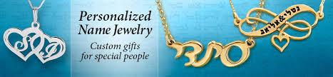 Multiple Name Necklace Hebrew Name Necklaces Personalized Name Jewelry Jewish U0026 Israeli