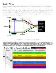 trailer light hook up wiring diagram for trailer hook up wiring center