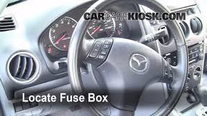 Seeking Fuse 2003 2008 Mazda 6 Interior Fuse Check 2006 Mazda 6 I 2 3l 4 Cyl
