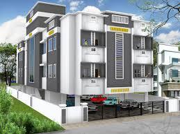 Residential Building Elevation by Get Modern 3d House Front Elevation Building Design Loversiq