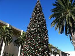 christmas in newport beach fashion island christmas tree