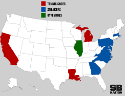 Mls Teams Map Sneakers Or Tennis Shoes What Do You Call Them Sbnation Com