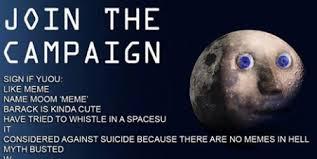 Moon Meme - nasa change the moon to the meme