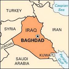 baghdad on a map map of baghdad iraq major tourist attractions maps
