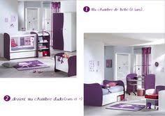 chambre pop sauthon mon lit de bébé et sa commode avec dispositif à langer pop violette