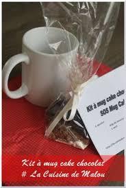 la cuisine de malou cadeau gourmand 3 kit à offrir mug cake chocolat ou sos mug