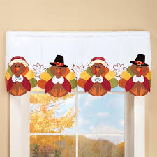 Snowman Valances Thanksgiving Turkey Window Valance Discount Home Decor