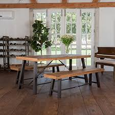 Picnic Dining Room Table Rosario Outdoor Wood 3 Picnic Dining Set