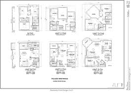 Floor Plan Residential Palazzo Westwood Project Draft Eir