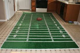 Nfl Area Rugs Fabulous Football Field Area Rug Make A Football Field Rug Chica