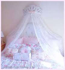 Bed Canopy Crown Www Crystalsrosecottagechic Website Design By
