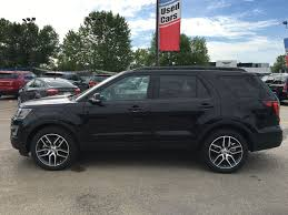 Ford Explorer All Black - new 2017 ford explorer sport in calgary 17ex5822 maclin ford
