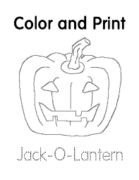 jack o lantern printable coloring pages jackolantern colouring pages