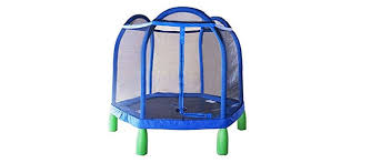 Mini Trampoline With Handrail Safest And Best Mini Trampolines For Big Kids And Toddlers