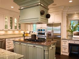 stove in island kitchens black kitchen islands hgtv