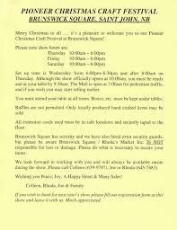 What Is Open Table Pioneer Christmas Craft Sale
