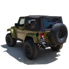 black jeep wrangler unlimited soft top jeep 2010 2017 wrangler jk 2dr oem replacement soft top vinyl