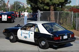 1982 ford mustang hatchback california highway patrol chp 1982 ford mustang hatchb flickr