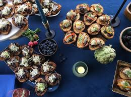 canape firr appetizers hors d oeures catering field cafe