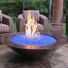 Firepit Bowls Gaslight Firepit Gas Lights Pits Glass Bowls Bowl