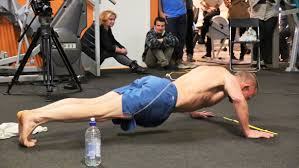 Biggest Bench Press In The World - video british man pushes himself to the limit doing 2 220 press