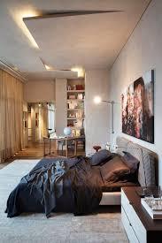 le plafond chambre faux plafond moderne dans la chambre à coucher et le salon