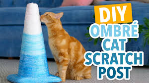 Modern Cat Scratching Post