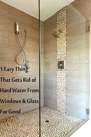 rain x on shower doors cleaning pinterest hard water window