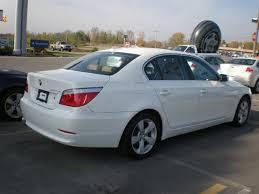 bmw 528 xi bmw 528xi 2008 white sedan gasoline 6 cylinders all whee drive