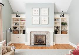 Mantel Bookshelf Fireplace Mantel And Bookcase Built Ins Houzz