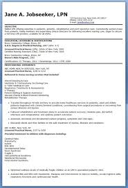 lpn resume objectives examples lpn resume objective by jane smith