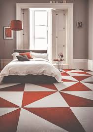 Bedroom Flooring Ideas by Bedroom Alluring Interior Design For Living Room With Red Wall