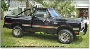 86 dodge ram bill rogerson s 488 000 mile 186 dodge w 150 4x4 truck