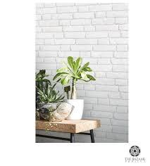 Trompe L Oeil Wallpaper by White Old Bricks Wallpaper Koziel