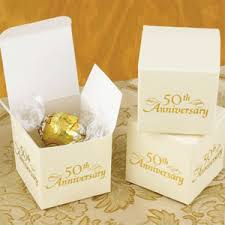 anniversary party favors 50th anniversary favor boxes 25 pcs 25th 50th anniversary