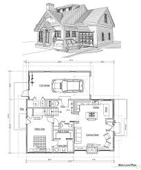 cabin design and plan fujizaki