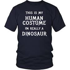 Easy T Shirt Halloween Costumes by Dinosaur Halloween Costume T Shirt Easy Funny Halloween U2013 Dragonstee