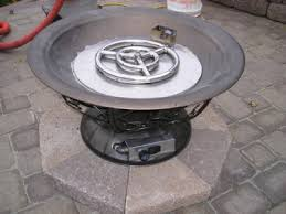 Fire Pit Burners by Clean Burning Outdoor Firepits Propane Burner Authority And