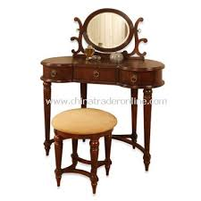 Antique Vanity With Mirror And Bench - wholesale antique mahogany vanity mirror u0026 bench set buy discount