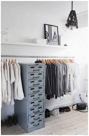 Bedroom Clothes Open Storage Solution Dreamcloset Decor U0026 More Pinterest