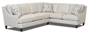 Klaussner Furniture Quality Transitional 2 Piece Sectional By Klaussner Wolf And Gardiner