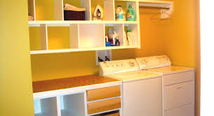 lovely laundry rooms on pinterest small room basement storage