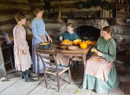 pioneer thanksgiving 1850 farm lhf kids