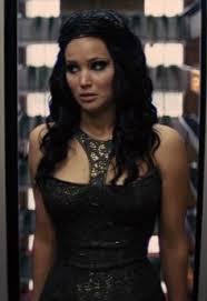 katniss everdeen u0027s black gown from